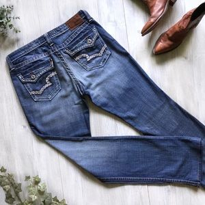 Big Star Maddie Flap Pocket Jeans
